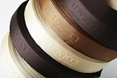 Luxury Gross Grain Ribbons with Raised Print